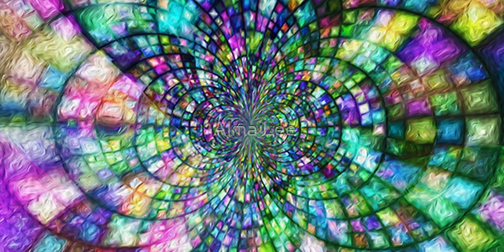 God's Glory Shining Through by Alma Lee