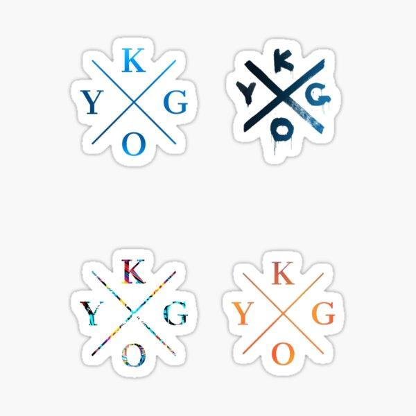 Kygo 4-Pack Sticker