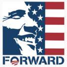 Obama Forward 2012 Flag Shirt by ObamaShirt