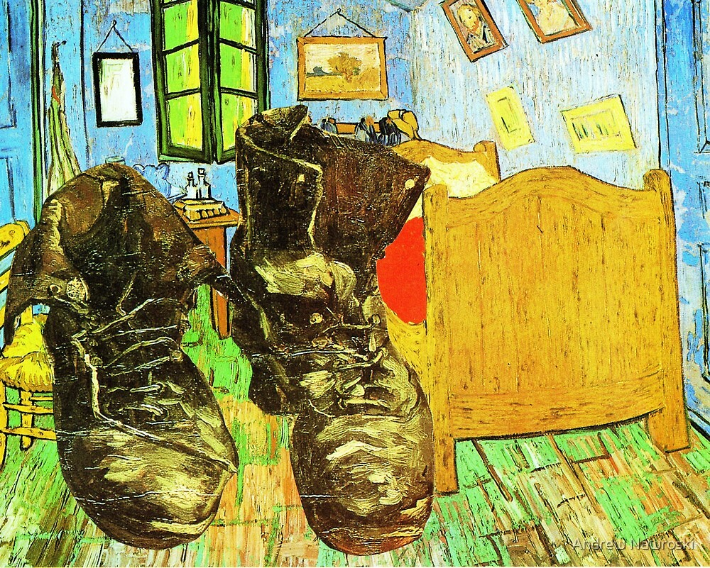 Van Gogh's Boots. by Andrew Nawroski