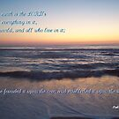 Palms 24:1-2 by Paula Tohline  Calhoun