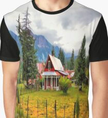 Life On The Mountain Graphic T-Shirt