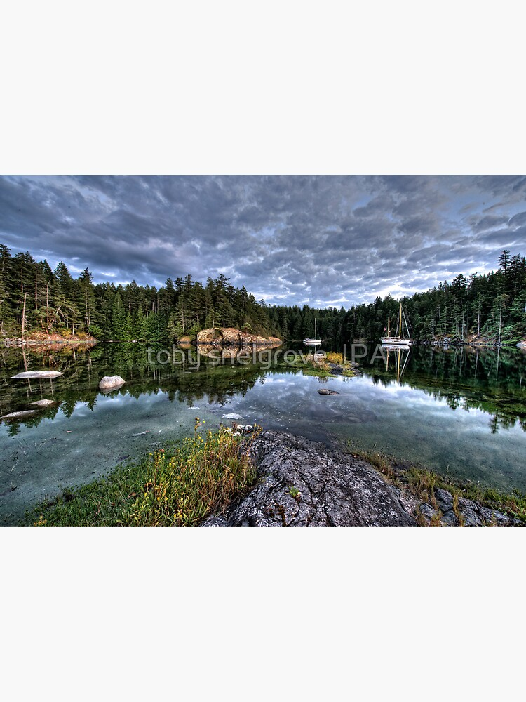 Smuggler Cove, Pender Harbour, BC by tobysnelgrove