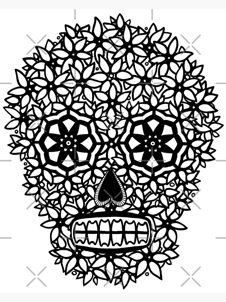 Flower Skull by mijumi