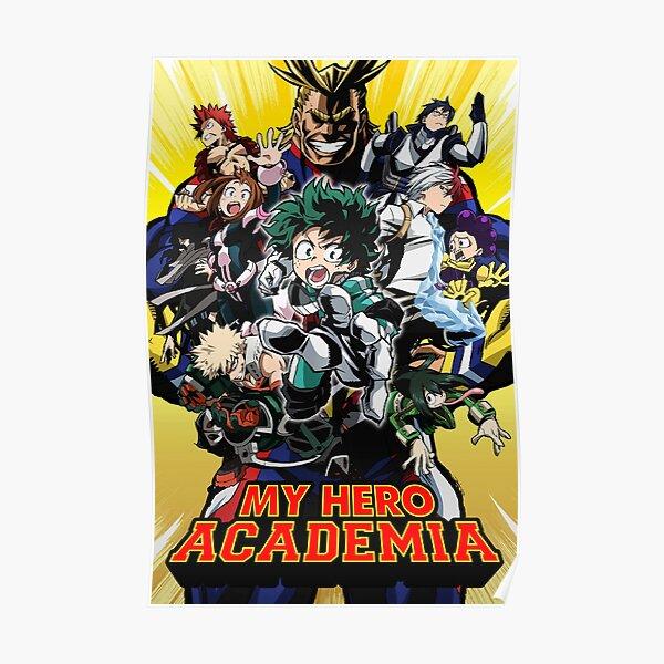Boku no Hero Academia Mes conceptions de Hero Academia - Poster