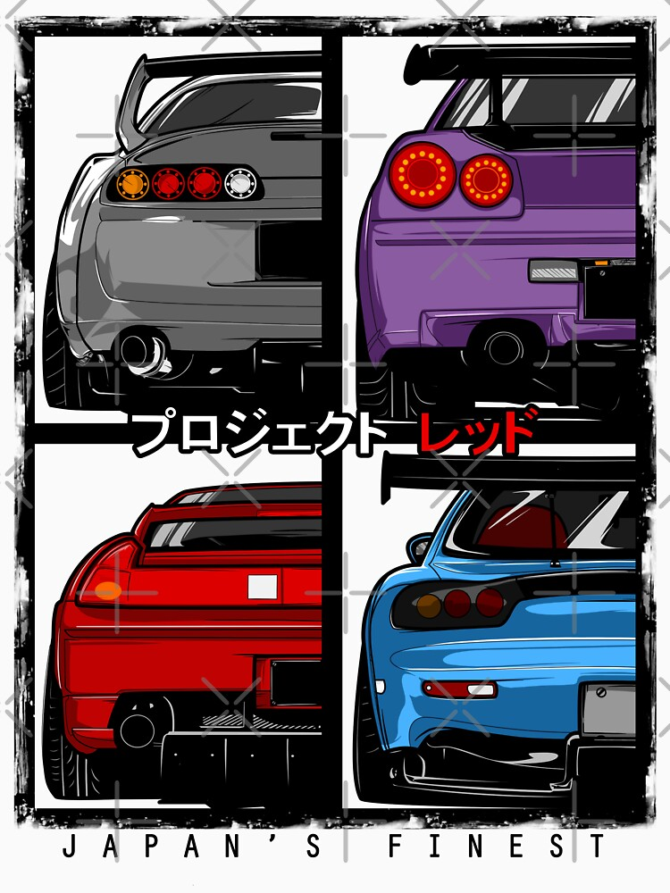 Japans Finest | Supra | R34 | NSX | FD3S RX7 by projectred