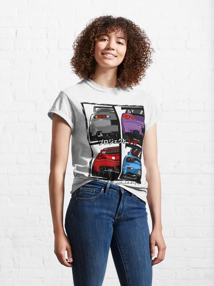 Alternate view of Japans Finest | Supra | R34 | NSX | FD3S RX7 Classic T-Shirt