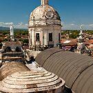 Granada Rooftops by Karen Millard