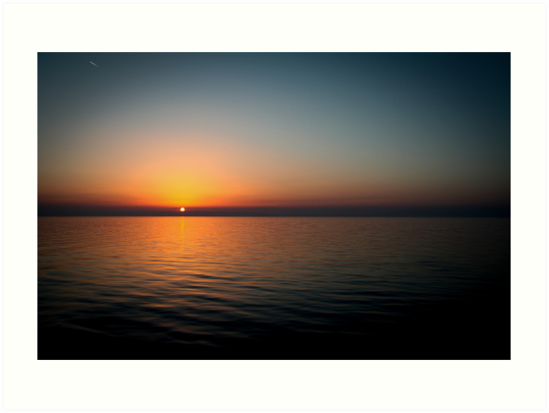 Ionian sunset by Roverguybm