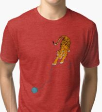 Big Kitty Tri-blend T-Shirt