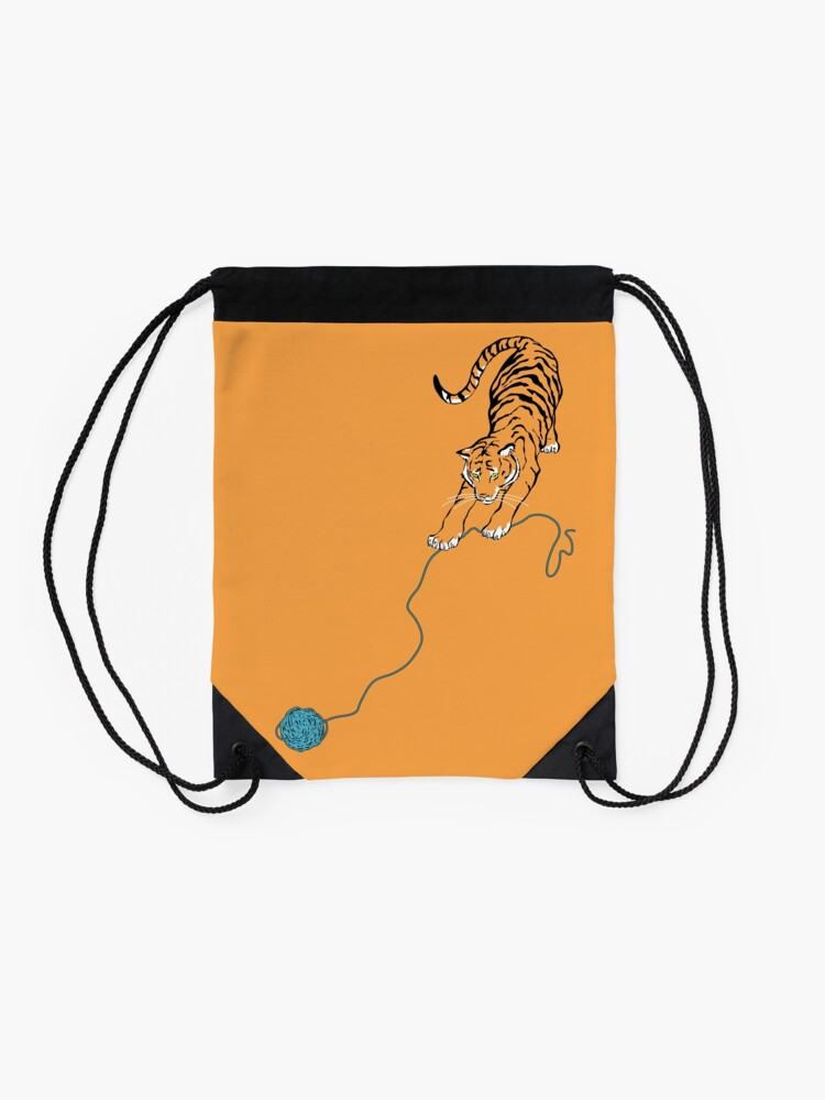 Alternate view of Big Kitty Drawstring Bag