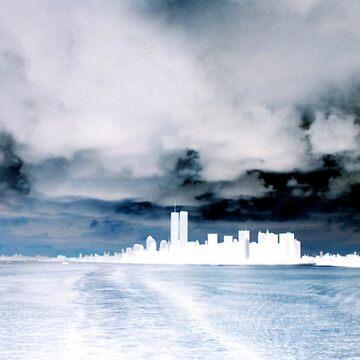 NY NY Skyline Invert by nyscooby