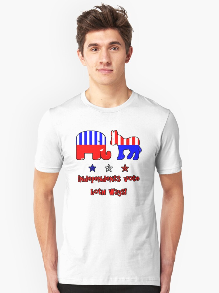 Independents Vote T-Shirt Unisex T-Shirt Front