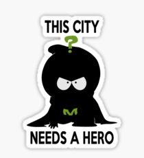 mysterion Sticker