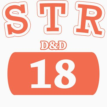 Varsity D&D - STR 18 by theotherjeff
