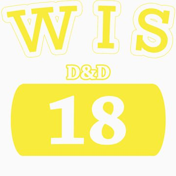 Varsity D&D - WIS 18 by theotherjeff