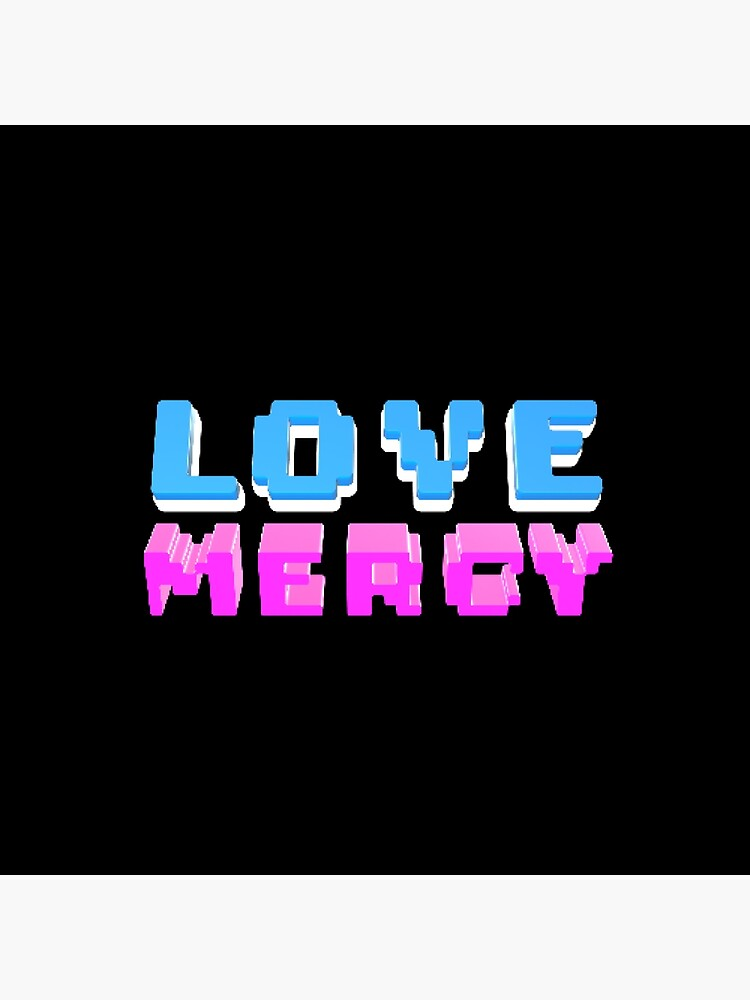 Love Mercy - Micah 6:8 | Christian Geek by TheArmoury