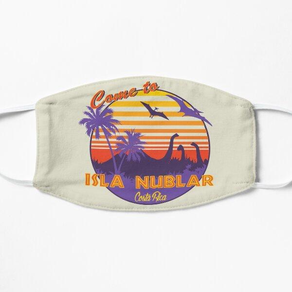 Isla Nublar Dinosaur Sunset Funny Classic Flat Mask