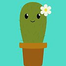 Happy Cactus by Crystal Potter