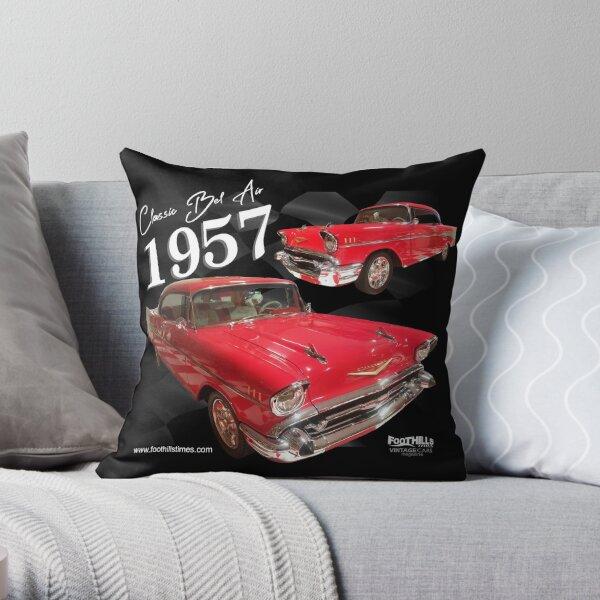 Bel Air Classic 1957 Throw Pillow