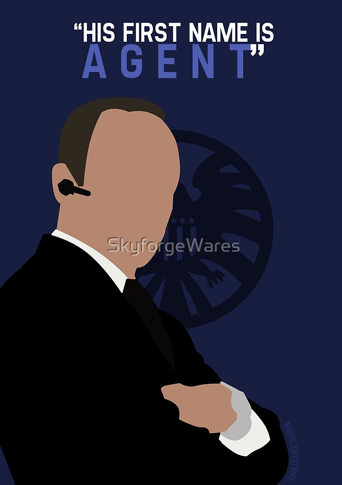 """His First Name is """"AGENT."""" by SkyforgeWares"""