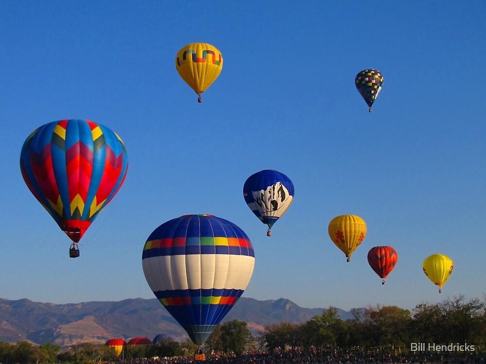 Balloon Launch by Bill Hendricks