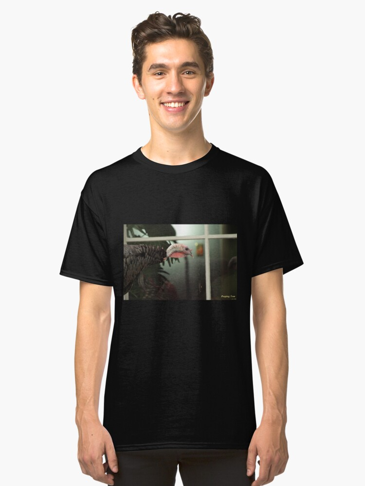 Peeping Tom Classic T-Shirt Front