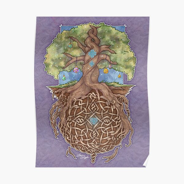 Gaia Life Tree Poster