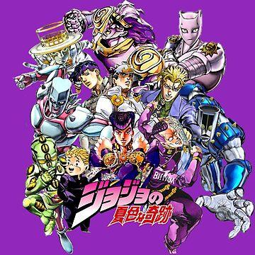 JoJo's Bizarre Adventure: Diamond Is Unbreakable Characters by bushidosempai