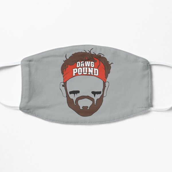 Baker Mayfield Dawg Pound Cleveland Browns Mask