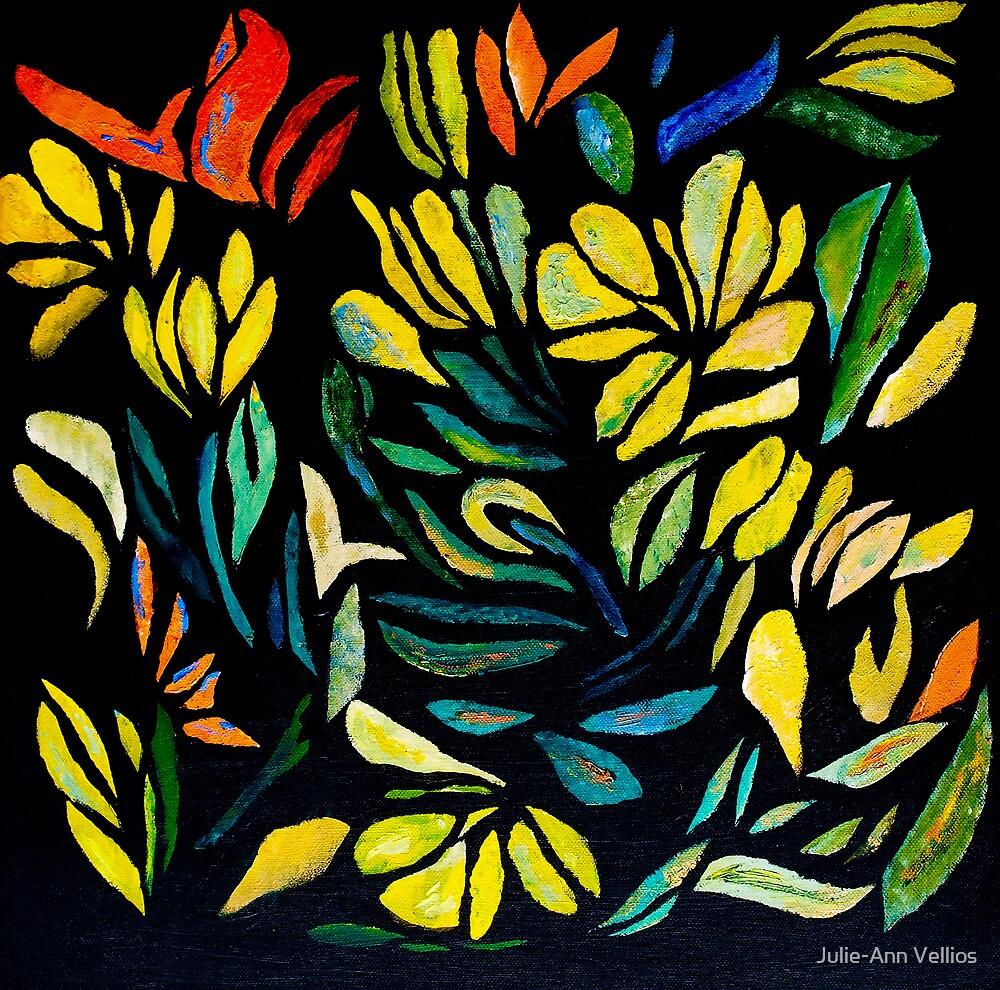 Around The Garden by Julie-Ann Vellios
