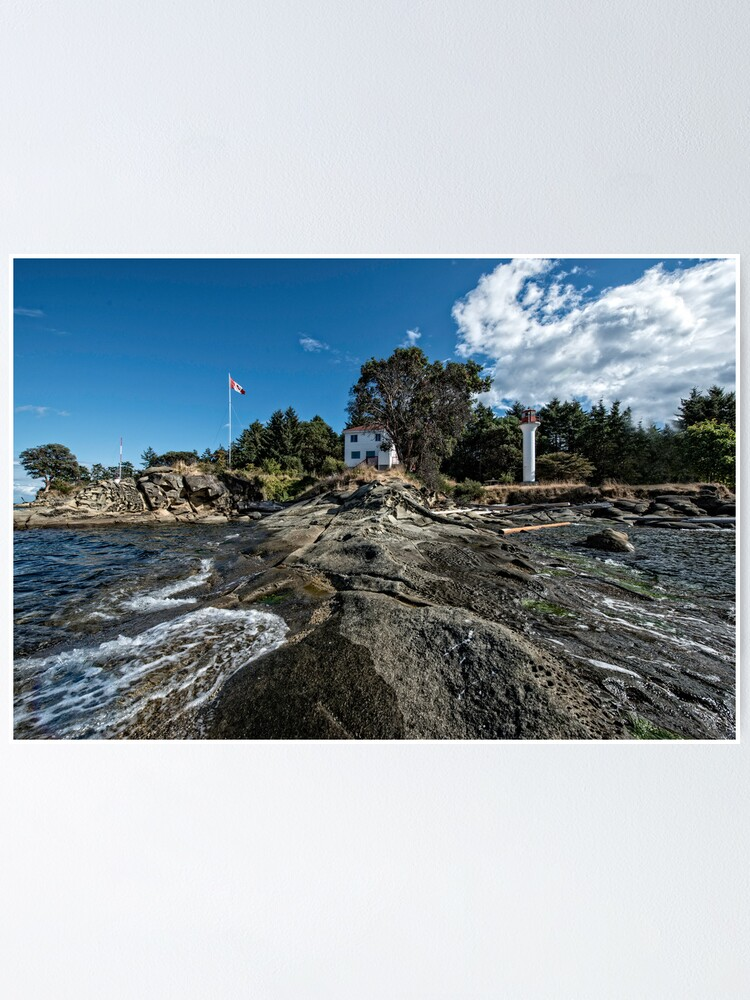 Alternate view of Lighthouse Park from the Point Poster