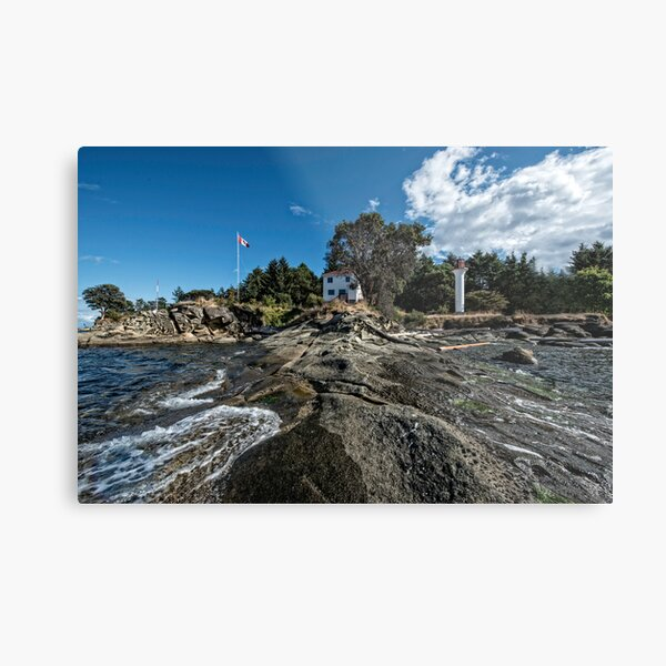 Lighthouse Park from the Point Metal Print