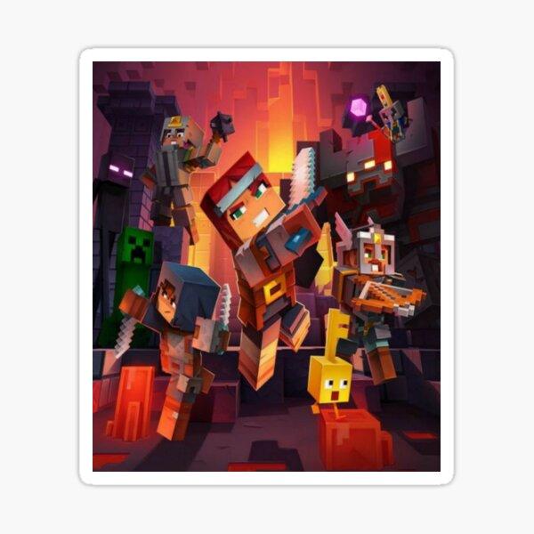 Minecraft dungeons Sticker