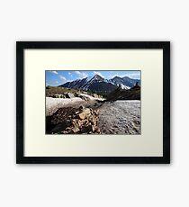 Above Highwood Pass IV Framed Print