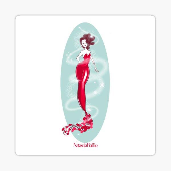 Red cherry Sticker