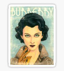 Vivien Leigh wearing Burberry Fall 2015 RTW Sticker