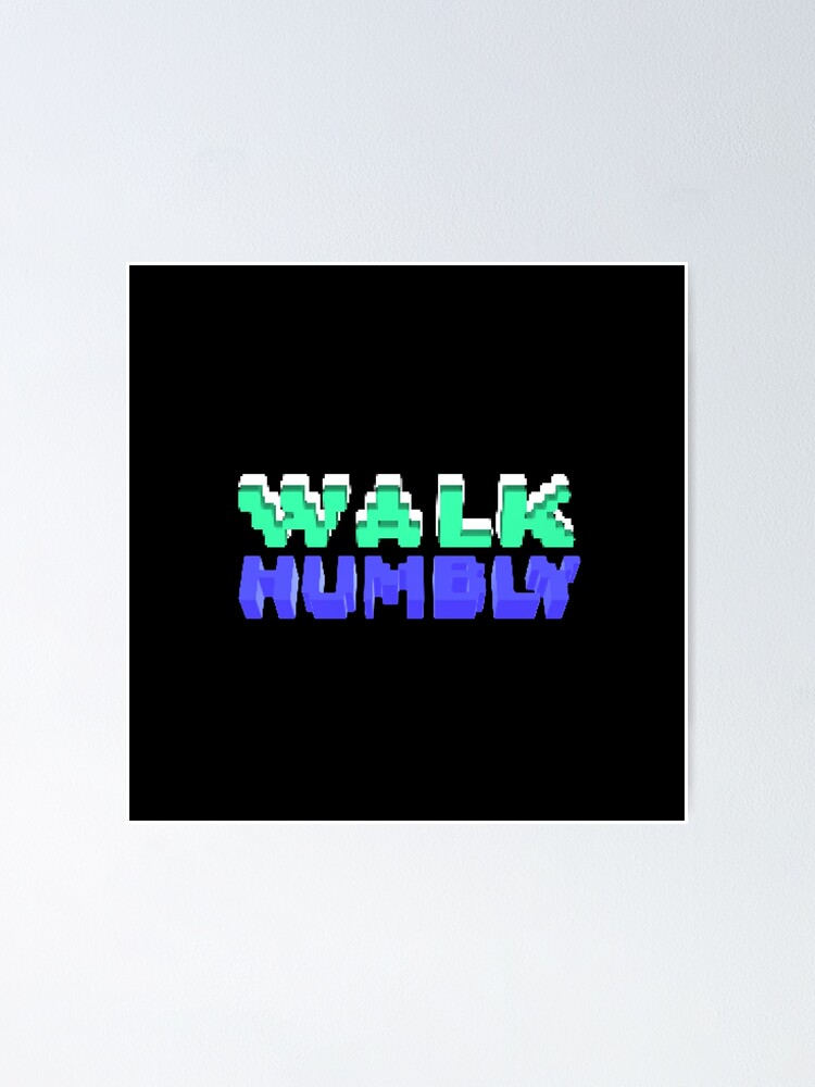 Alternate view of Walk Humbly - Micah 6:8 | Christian Geek Poster