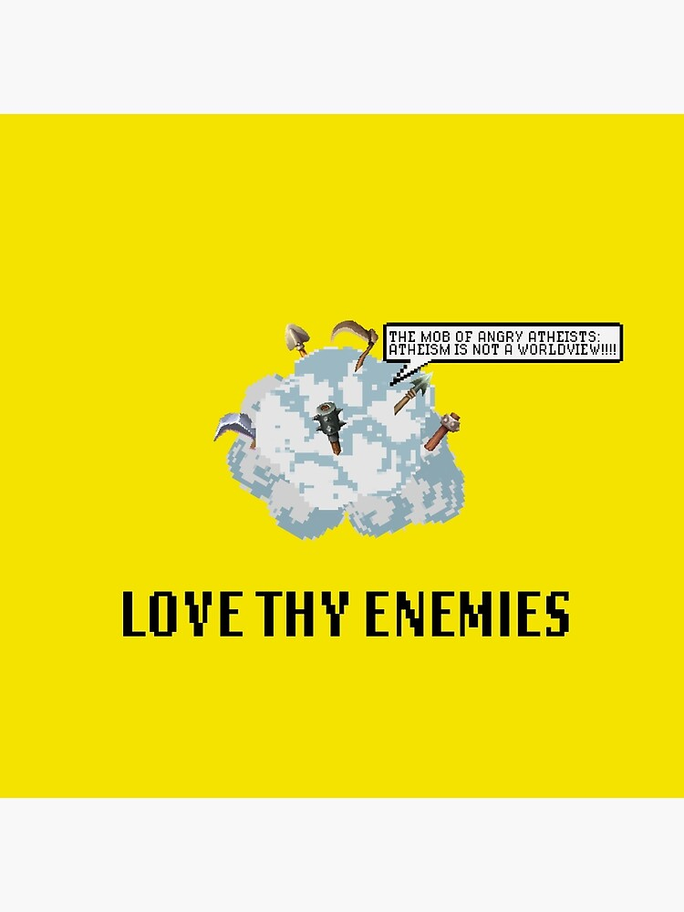 The Mob of Angry Atheists (Yellow) | Christian Geek by TheArmoury