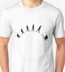 99 steps of progress - Science Unisex T-Shirt