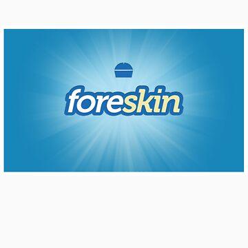 Foreskin (Foursquare Logo Parody) by xyphious