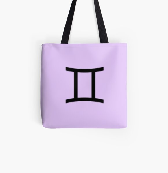 Gemini All Over Print Tote Bag