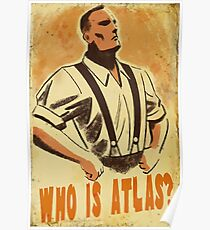 Who Is Atlas Poster