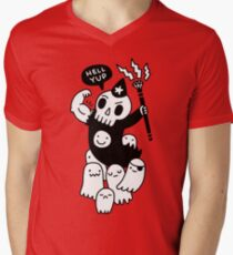 Super Duper Necromancer Mens V-Neck T-Shirt