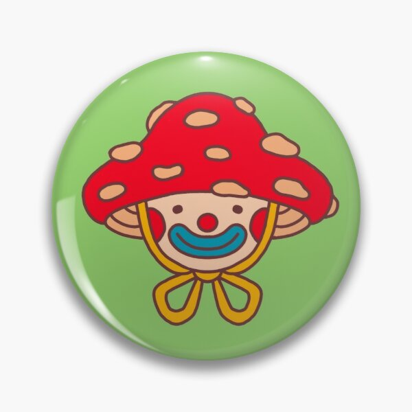 Mushie clown Pin