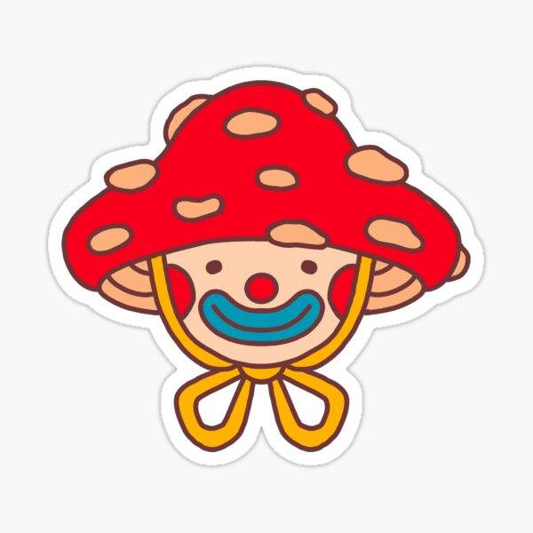 Mushie clown Sticker