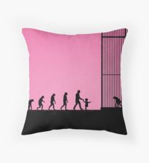 99 steps of progress - Respect for elders Throw Pillow