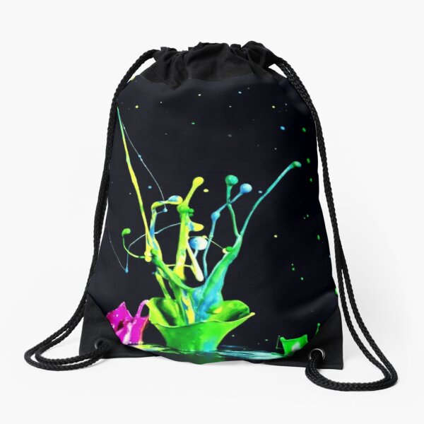color lovers collection Drawstring Bag