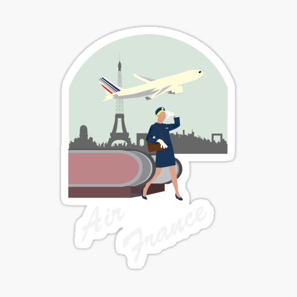 Air France Sticker