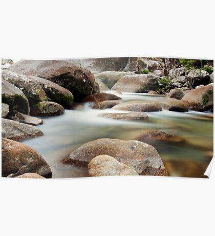 Slow Flow - Josephine Falls, far north Queensland Poster
